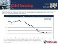 Global Technology - Henderson Global Investors