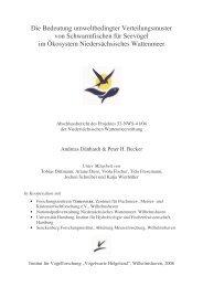 Bericht - Fischartenatlas von Deutschland und Österreich