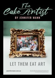 The Cake Artist Magazine By Jennifer Mann