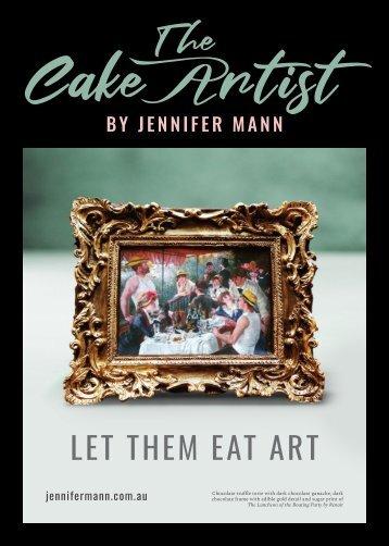 The Cake Artist Magazine By Jennifer Mann