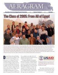 AERAgram newsletter - Ancient Egypt Research Associates