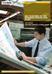 Business Protection Key Features Document - Legal & General