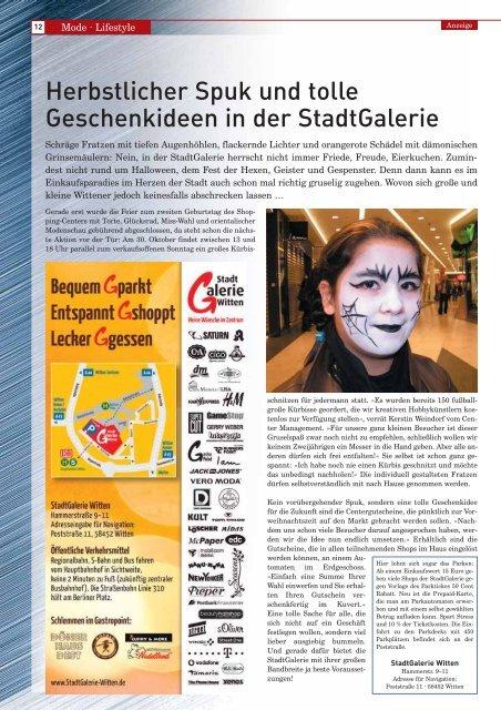 Witten - Stadtmagazin