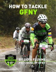 How to tackle GFNY