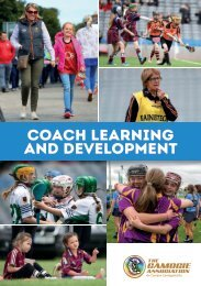 Coach Learning and Development Booklet 2020