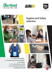 Hygiene and Safety  selection 2021