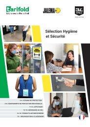 Sélection Hygiène et Sécurité 2021