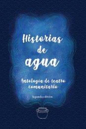 Historias de agua, antología de teatro comunitario
