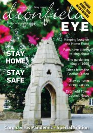 Dronfield Eye Issue 175 May 2020