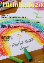 TuttoBallo20 EnjoyArt - Aprile