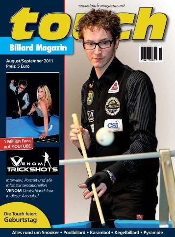 Billard Magazin - Cottbuser-Billard