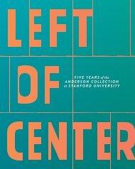 Catalog | Left of Center