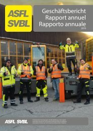 ASFL SVBL Geschäftsbericht 2019