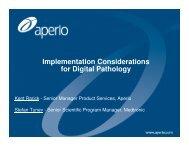 IT Considerations - Aperio