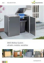 Brügmann TraumGarten, Müllbox-System