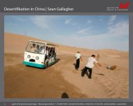 Desertifikation in China | Sean Gallagher - laif agentur für photos ...