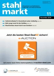 Stahlmarkt 11/2019