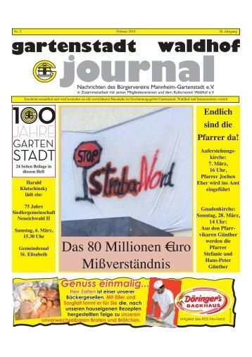 gartenstadt waldhof journal - Stadtteil-Portal Mannheim