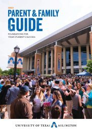 UTA 2020/21 Parent & Family Guide