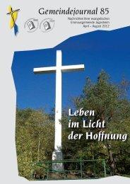 Gemeindejournal 85 - Emmaus Gemeinde Juegesheim