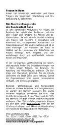 Weitere Adressen - Integration in Bonn
