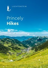 Princely Hikes in Liechtenstein