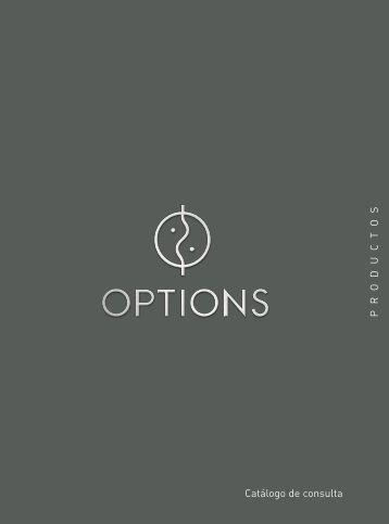 Catálogo de consulta P R O D U C T O S - Options