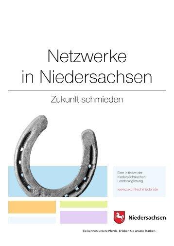 Netzwerke in Niedersachsen: Zukunft schmieden - Innovatives ...