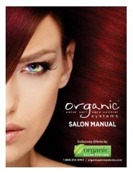 Technical Assistance: 1-888-213-4744 - Organic Color Systems