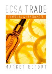 ECSA Trade Flavours and Fragrances   Market report preview