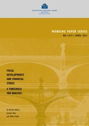 working paper series no 1319 / april 2011