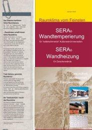 Wo ist die SERA-Technik besonders vorteilhaft?