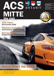 aktuell - ACS Automobil-Club der Schweiz