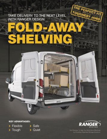 Ranger Design Fold-Away Foldable Shelving