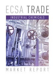 ECSA Trade Industrial Chemicals   Market report preview