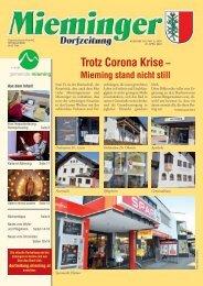 Dorfzeitung-Mieming, März 2020