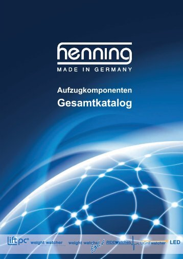 Katalog herunterladen - Henning GmbH