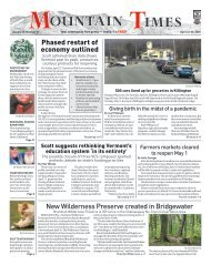 Mountain Times – Volume 49, Number 17 – April 22-28, 2020
