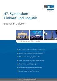 Kongressprogramm 2012 - BME