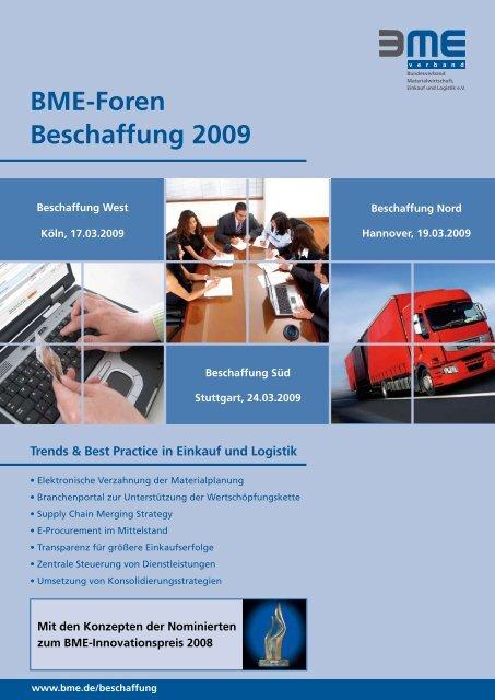 BME-Foren Beschaffung 2009