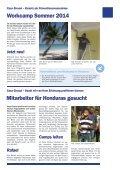 Infoblatt des Schweizer Kinderhilfswerks Casa Girasol in Honduras - November 2013 - Workcamp - Page 7