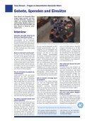 Infoblatt des Missionswerks Casa Girasol  - Mai 2015 - Kinder und Jugendliche mit einer Spende unterstützen  - Page 6