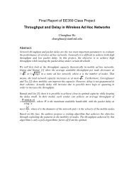 Throughput and Delay in Wireless Ad Hoc Networks