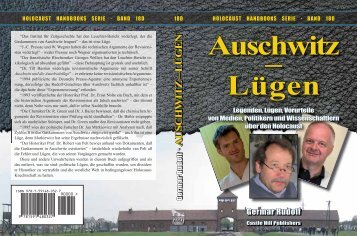 Auschwitz – Lügen - The Barnes Review