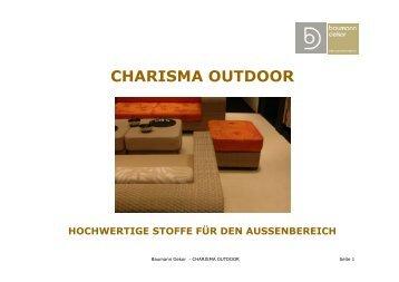 CHARISMA OUTDOOR - Baumann Dekor