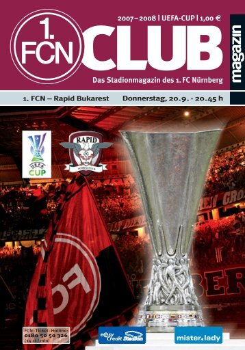 the club! - 1. FC Nürnberg