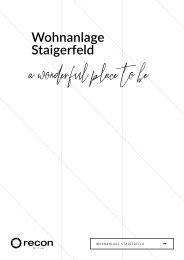 Expose Staigerfeld neu