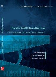 Nordic Health Care Systems - World Health Organization Regional ...