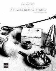 Les carnets du Curtius n°1 • LA TOMBE 2 DE BOIS-ET-BORSU