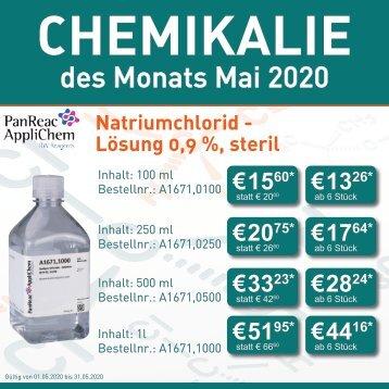 Chemikalie des Monats-Mai